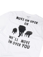 Load image into Gallery viewer, El Solitario Move On T-Shirt. Back Detail
