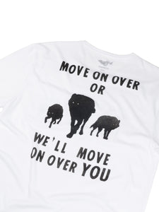 El Solitario Move On T-Shirt. Back Detail