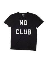 Load image into Gallery viewer, No Club Black T-Shirt