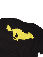 Load image into Gallery viewer, Lobo Black T-Shirt. Detail Back