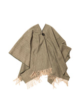 Load image into Gallery viewer, El Solitario Short Poncho Khaki