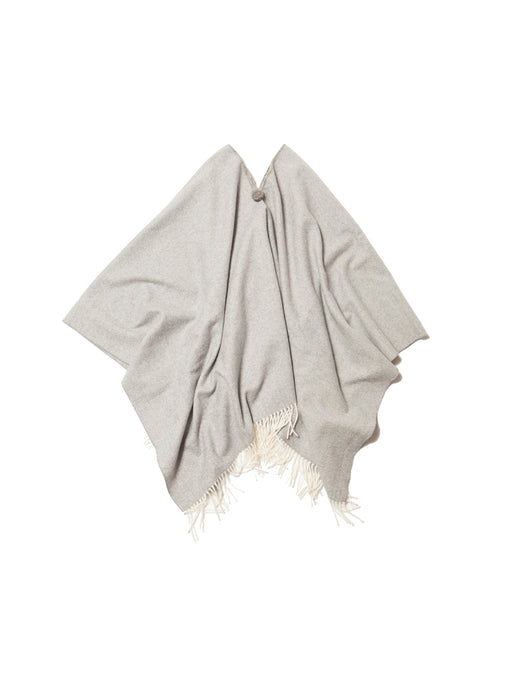 El Solitario Short Poncho Light Grey