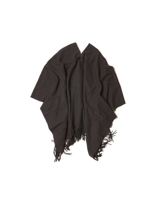 El Solitario Short Poncho Black