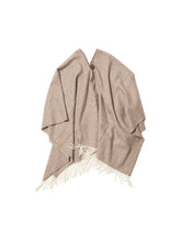 Load image into Gallery viewer, El Solitario Short Poncho Beige