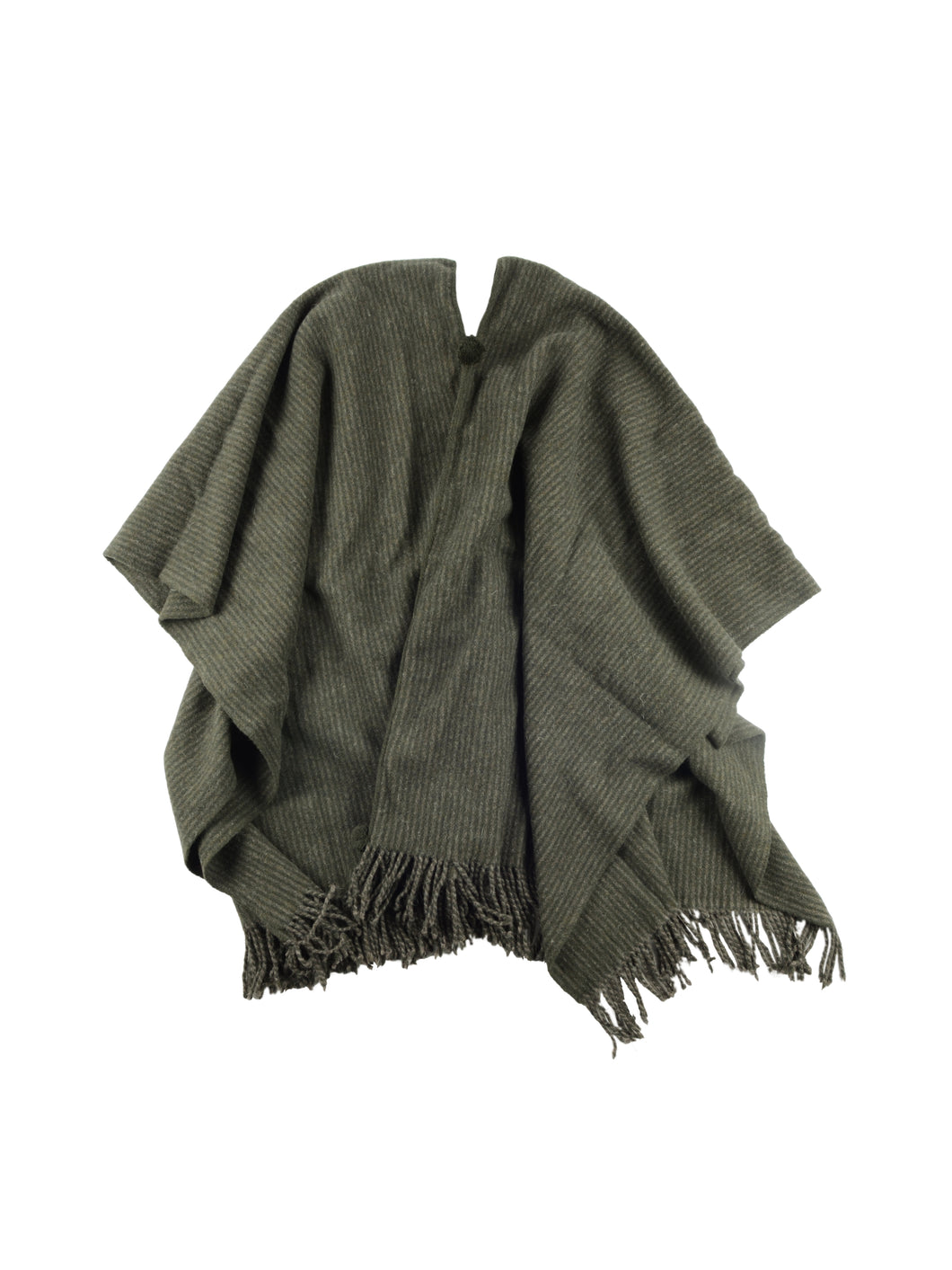 El Solitario Traditional Poncho Green