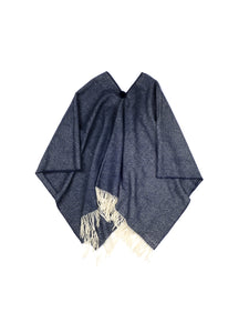 El Solitario Short Poncho Blue