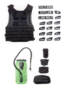 El Solitario Outlaw Tactical Vest