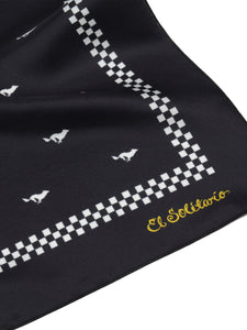 El Solitario Lobitos Black Scarf