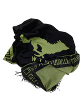 Load image into Gallery viewer, El Solitario Outlaw Blanket Black & Olive