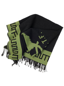 El Solitario Outlaw Blanket Black & Olive