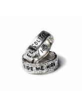 Load image into Gallery viewer, Ride Me High Sterling Silver Ring x Ell Silver