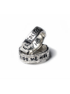 Ride Me High Sterling Silver Ring x Ell Silver