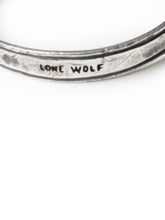 Load image into Gallery viewer, Lone Wolf Sterling Silver Bracelet x Ell Silver