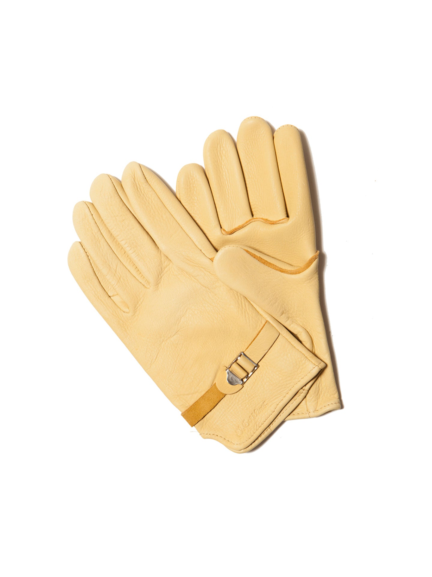 El Solitario Deerskin Riding Gloves. Detail