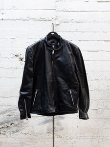 Kraken Goatskin Leather Jacket