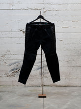 Load image into Gallery viewer, N.O.S. Rascal Leather Motorcycle Pant Black