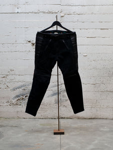 N.O.S. Rascal Leather Motorcycle Pant Black