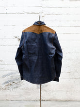 Load image into Gallery viewer, Vandal Overshirt Indigo