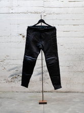 Load image into Gallery viewer, N.O.S. Rascal Top Grain Leather Motorcycle Pant Black
