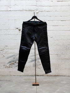 N.O.S. Rascal Top Grain Leather Motorcycle Pant Black