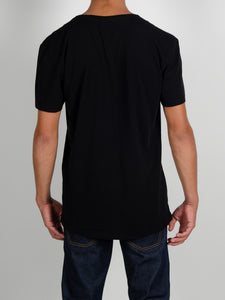 El Solitario Allergic Black T-Shirt. Back