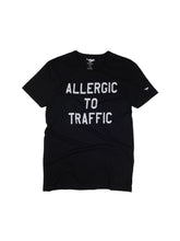 Load image into Gallery viewer, El Solitario Allergic Black T-Shirt. Front