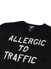 Load image into Gallery viewer, El Solitario Allergic Black T-Shirt. Detail