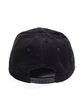 Load image into Gallery viewer, Alpha Wolf Cord Cap Black