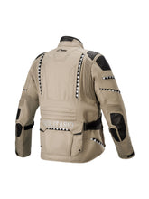 Load image into Gallery viewer, El Solitario Mowat Drystar® Sand Jacket X Alpinestars. Back