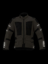 Load image into Gallery viewer, El Solitario Mowat Drystar® Sand Jacket X Alpinestars. Reflective Front