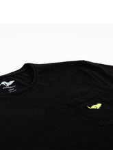 Load image into Gallery viewer, El Solitario ES-1 Black T-Shirt. Logo