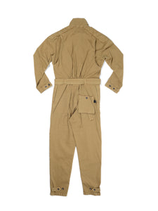 El Solitario Bonneville Coverall Khaki. Back