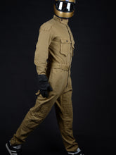 Load image into Gallery viewer, El Solitario Bonneville Coverall Khaki. Rider