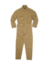 Load image into Gallery viewer, El Solitario Bonneville Coverall Khaki. Front