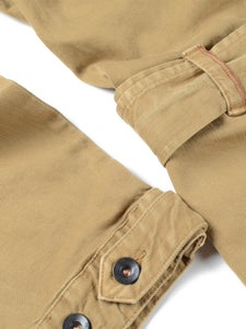 El Solitario Bonneville Coverall Khaki. Sleeves