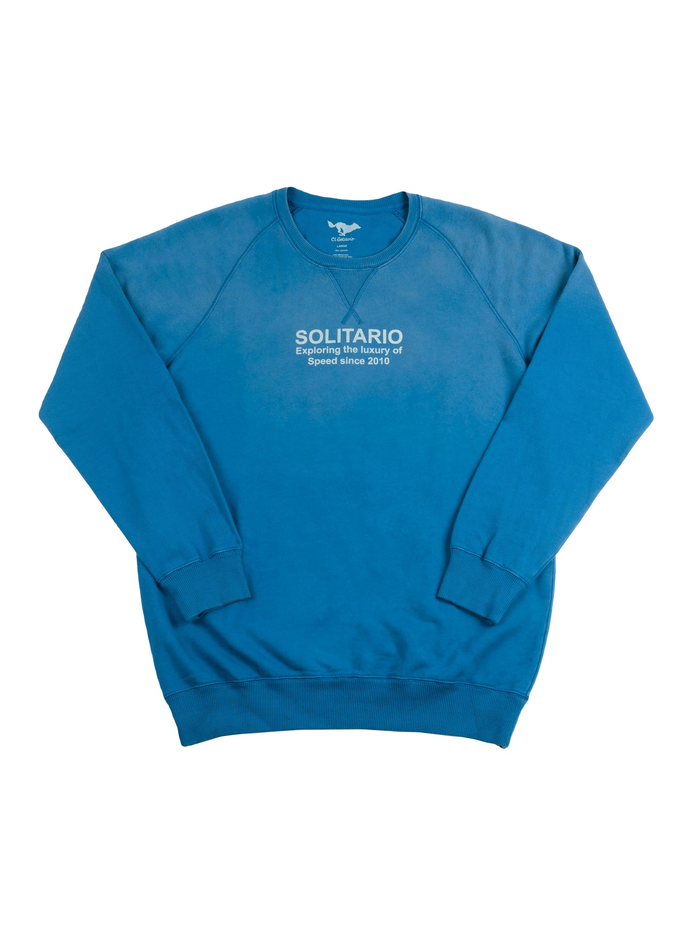 El Solitario Luxury of Speed Sweatshirt. Front