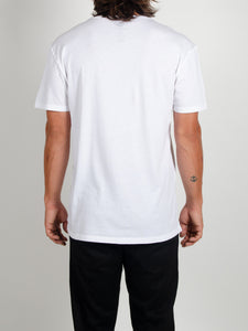 El Solitario Pain White T-Shirts. Model Back