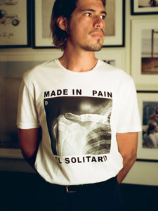 El Solitario Pain White T-Shirts. Rider