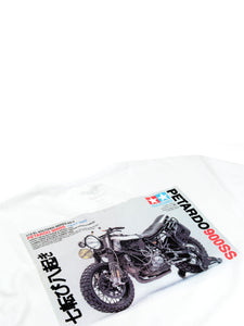 El Solitario Model Kit T-Shirt. Detail Back