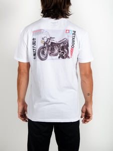 El Solitario Model Kit T-Shirt. Model Back