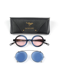 El Solitario X Native Sons Eyewear Blue