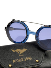 Load image into Gallery viewer, El Solitario X Native Sons Eyewear Blue
