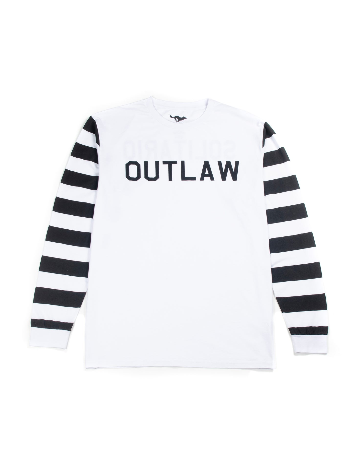 Outlaw White Long Sleeve T-shirt