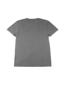 El Solitario Outlaws Grey T-Shirt. Back