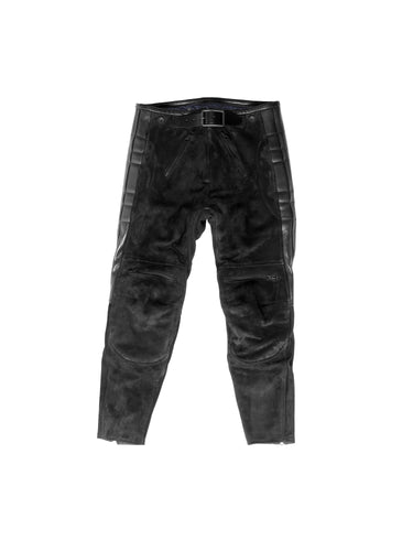 El Solitario Rascal Leather Motorcycle Pants Black
