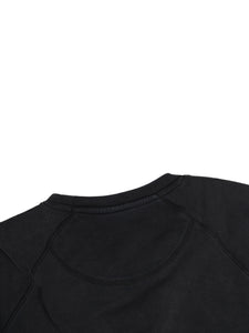 El Solitario WTF Black sweatshirt. Detail