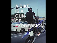 Load and play video in Gallery viewer, Bike Gun Sweatshirt
