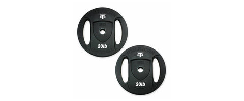 T-Grip Shorty Bar for Olympic weight plates