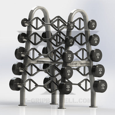 T-Grip Barbell Rack Set