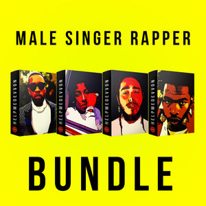 Male Singer Rapper Bundle - HelpMeDevvon